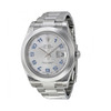 branded watches sale ROLEX Datejust II Rhodium Dial Stainless Steel Automatic Men's Watch