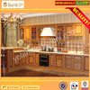 NEW ITEM High Quality Country Style Solid Wooden Kitchen Cabinet/European Antique Classical Kitchen Cabinet  Accept Customized(BK0110-0009)