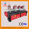 DSP 4 axis cylindrical cnc router machine for relief engraving,furniture engraving  TYE-2415-8R