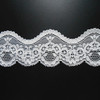 Stretch lace trims with 90%nylon,10%spandex uesd to underwear,wedding dress and so on.