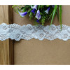 Elastic lace trim with nylon and spandex