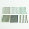 Tecture Grey tinted reeded glass prism glass for wall cladding