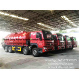 Howo 8x4 sludge suction truck 18000 litres Euro 4 Price:68000~70000 /unit