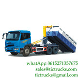 18cbm FAW 6X4 LHD 260HP heavy duty roll off waste truck