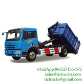 12cbm roll off garbage truck hooklift garbage truck for sale