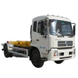 10CBM Dongfeng 4x2 180hp hook lift bin truck for sale