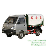 2m3 1T mini waste dump truck for sale