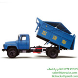 8CBM Dongfeng 4x2 140hp Waste tipper for sale