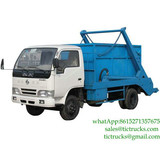 3m3 skip loader truck for sale