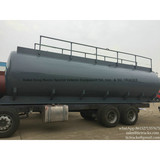 Acid tank Truck upper tank body steel lined LDPE plastic lining factory sale