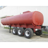 3 axles Chemical transport hydrochloric acid phosphoric acid sulfuric acid tanks truck trailer  plastic lining factory sale