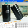 Low DF Capacitor Screw Terminal Electrolytic Capacitor for UPS Power System