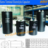 Reliable AV Capacitor Screw Mounted Terminal Electrolytic Capacitor RoHS Approval