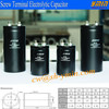 RoHs Capacitor Screw Mounted Terminal Aluminum Electrolytic Capacitor