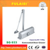 FULAISI Heavy Duty Aluminum Fireproof Door Closer UL Square 933