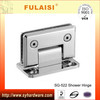 FULAISI right angle bathroom glass to wall glass clamp shower hinge SG-522 shower pivot
