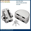 FULAISI factory price security Sliding Glass Door Lock with Knob with W keys