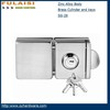SG-28High quality Stainless steel Door Sliding Glass Door Key Locks FULAISI