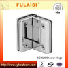 FULAISI Bathroom Zinc Alloy Brass Frameless Shower Door Enclosures Shower Glass Hinge