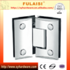 China Shower Hinge Supplier FULAISI Bathroom Glass Door Hinge with Brass Material