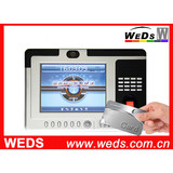 Biometric Time Attendance System with 8'' Large LCD