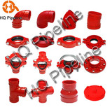 UL/FM Ductile iron grooved fittings