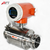 High quality Sanitary type magnetic water flow meter