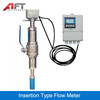 220VAC, 24VDC  flow meter, Insertion Type Flow Meter,water electromagnetic flowmeter magnetic flow meter with CE