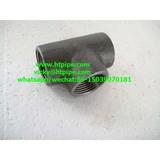 ASTM A182 F51 F53 F55 F44 F904L socket-welding/NPT threaded tee cross ASME B16.11