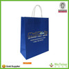 Green&blue&purple kraft paper bag cheap bags for shopping