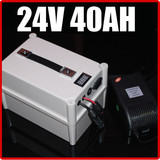 24V 40AH LiFePO4 Battery Portable Battery ,Electric bicycle Scooter Pack Solar energy, waterproof 24v lithium