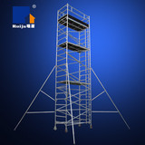 Double-width Scaffolding with Vertical Ladder