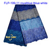 Latest fashion african tulle lace fabrics for evening dress