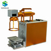 portable fiber laser marking machine 20w/30w/50w for choice