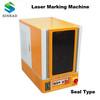 sealed mini size fiber laser marking machine, laser engraving machine