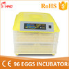 Automatic egg turning 96 eggs hatchery machine india price YZ-96