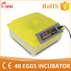 2016 new mini fully automatic 48 egg incubator in cheap price YZ8-48