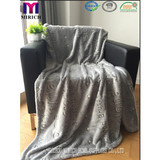 BLANKET / Back printed sherpa with noctilucent blanket/polyester blanket