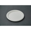 "7"" Round Plate (Biodegradable, Compostable, Eco-friendly Pulp)"