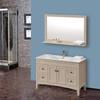 high quality bath cabinet with mirror floor standing bathroom vanity