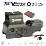 Vector Optics Premium High End 8 Reticle Solar Red Dot Reflex Combat Sight Scope