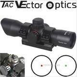 Vector Optics Panther 1x34 Green Red Dot Sight Reflex Scope Mount Flip-up Caps