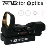 Vector Optics IMP 1x23x34 Tactical Green Red Dot Sight Scope 11mm Dovetail Mount