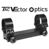 Vector Optics 30mm One Piece Low Profile Picatinny Weaver Riflescope Mount Ring