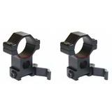 Vector Optics Tactical 30mm High Quick Release Scope QD Mount Picatinny Rings
