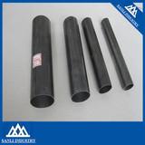 ERW black steel tube size