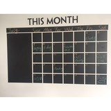 reusable erasable dry erase pvc blackboard planner calendar schedule