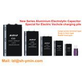 New series aluminum electrolytic capacitor for EV charging pile