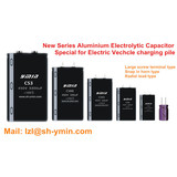 High quality Aluminum Electrolytic Capacitors for Electric Vehicle Charging pile