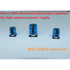 Sleeve SMD aluminum electrolytic capacitor for Power Supply